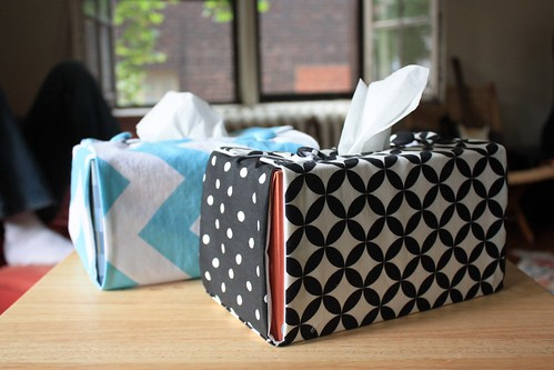 Fabric Tissue Box Covers