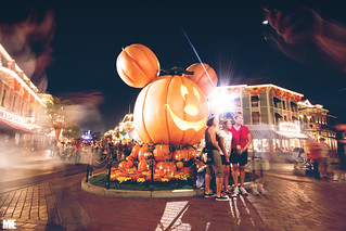 Pumpkin Mickey!