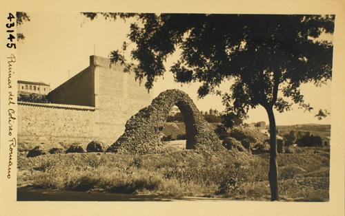 Circo romano de Toledo. Fotografía de Loty en los años 20. © Diputación de Toledo
