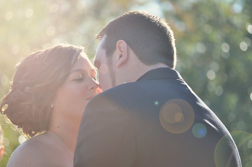 Allisa Pj Wedding Kiss