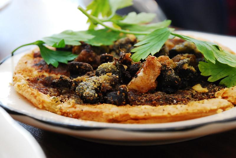 bone marrow and escargot tart