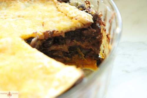 Butternut Squash Tortilla Pie