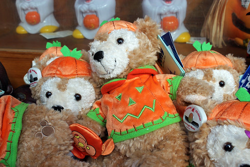 Halloween Duffy plushies
