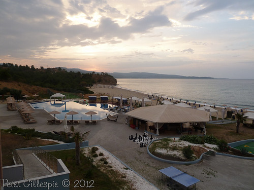 beach water sunrise greece thassos thasos makedonia thraki hotelbluedreampalace