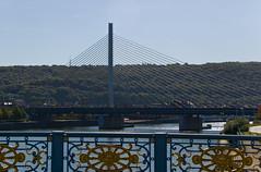Pont de Liège vu depuis le Pont de Fragnée