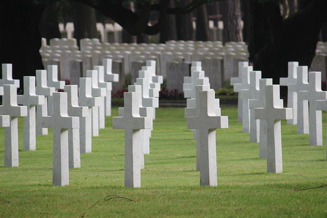 Crosses at Brookwood American Military Cemetery from Flickr via Wylio
