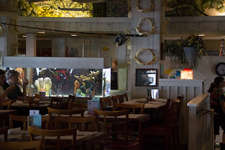 Interior, Sharky's on the Pier, Venice, FL, Restaurant Review