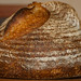 Vermont Sourdough with Increased Wholegrain—Well-proofed Boule, Crust