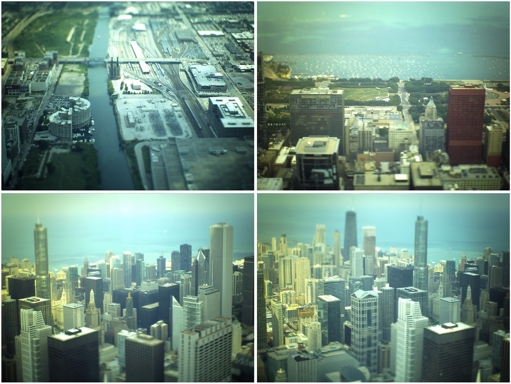 chicago tilt-shift sears tower