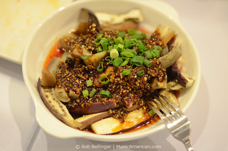 Eggplant in Garlic Sauce, Little Pepper, College Point, Queens