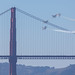 golden gate bridge x blue angles