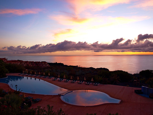 Sunrise from Hotel Las Olas, Concajos, La Palma