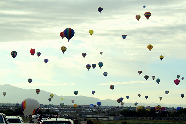 our first balloon fiesta