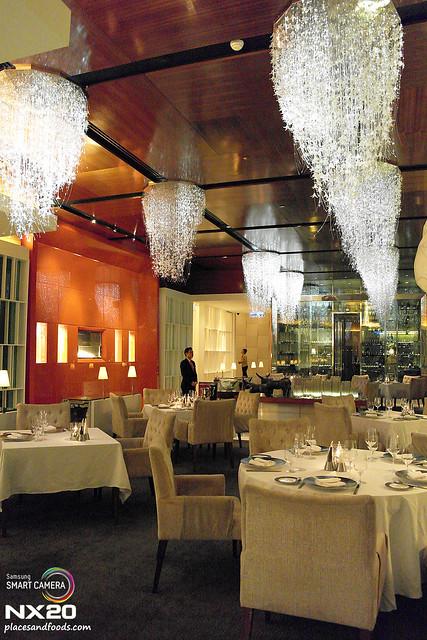 Mandarin Grill interior