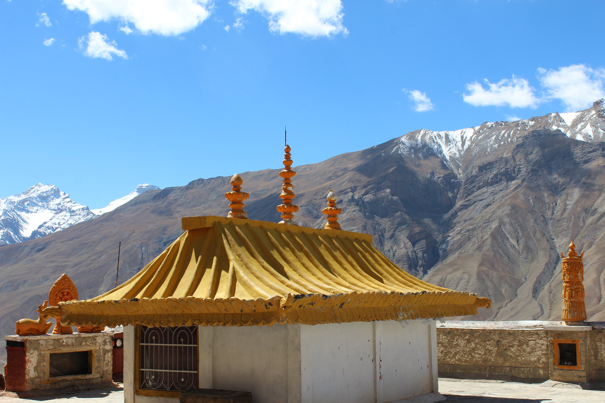 Top of the Kye monastery