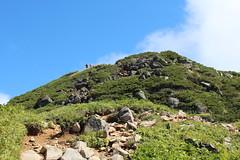 燧ヶ岳山頂付近