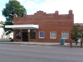 Brick Building in Bega