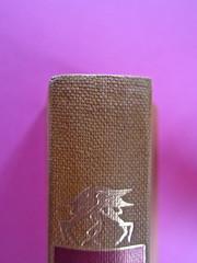Gore Vidal, La città perversa, Elmo editore 1949. (copia 2) Dorso (part.), 3