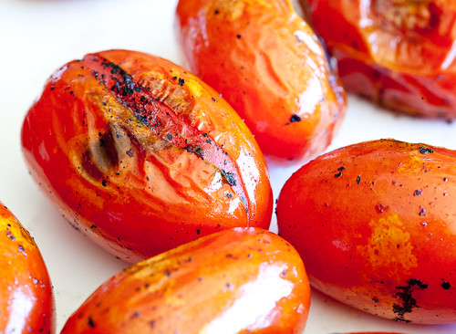 Blackened Tomatoes