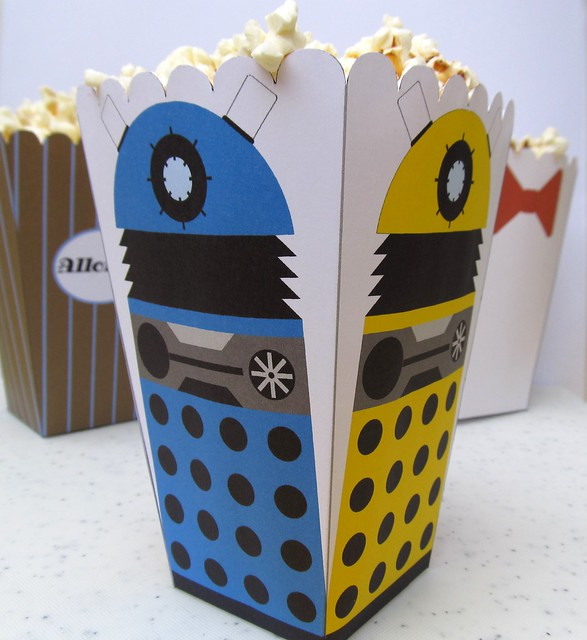 Dalek Popcorn Holder from Flickr via Wylio