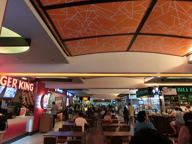 バンコク国際空港-国内線乗換えフードコート