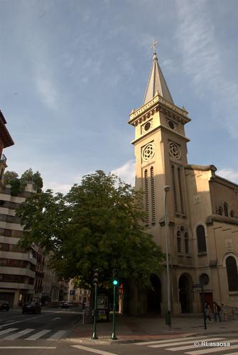 Vista de la Basílica de San Ignacio