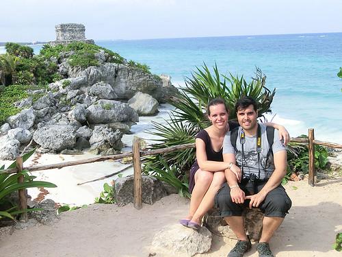 Día 1: Hotel Amansala (Casa del Bikini Bootcamp) – Restaurante el Tábano – Zona Arqueológica de Tulum