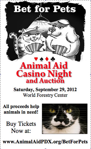 Animal Aid Casino Night @ World Forestry Center