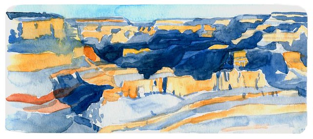 yavapai point watercolor