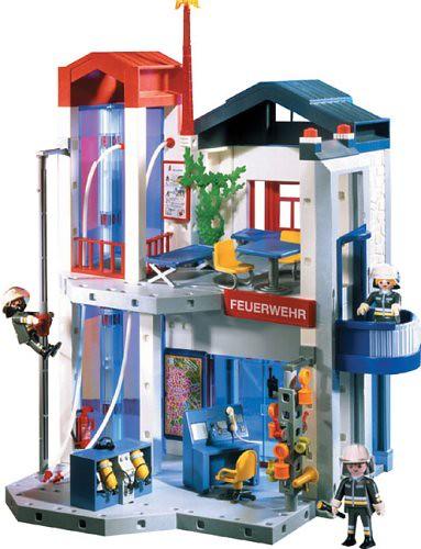 playmobil 3885 fire station headquarters flickr photo. Black Bedroom Furniture Sets. Home Design Ideas