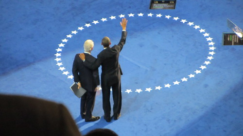 42 and 44 together #dnc2012 #electric #Bigdog #obama2012