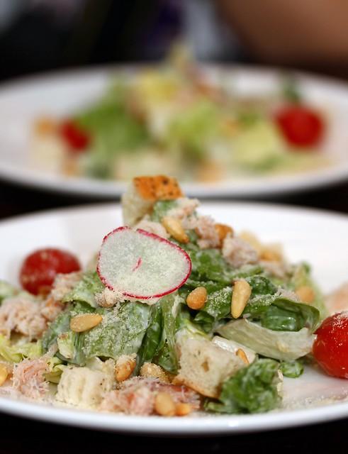 上流社会咖啡馆:蟹肉沙拉