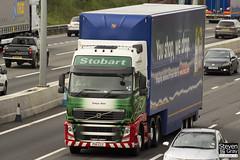 Volvo FH 6x2 Tractor - PX11 CCZ - Freya Ann - Green & Red - Eddie Stobart - M1 J10 Luton - Steven Gray - IMG_6083