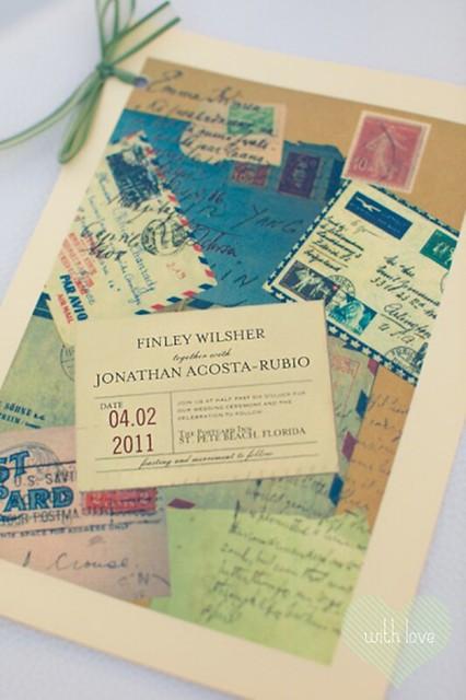 Postal y sellos vintage.fw