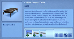 Coffee Lovers Table