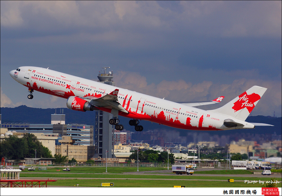AirAsia X / 9M-XAA / Taiwan Taoyuan International Airport