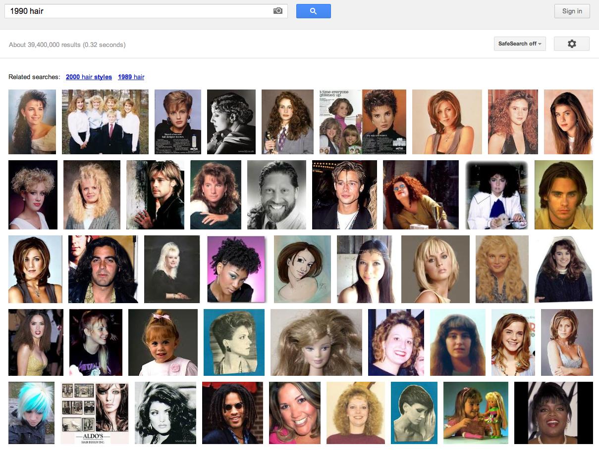 1990 hair - Goog...1990 Google