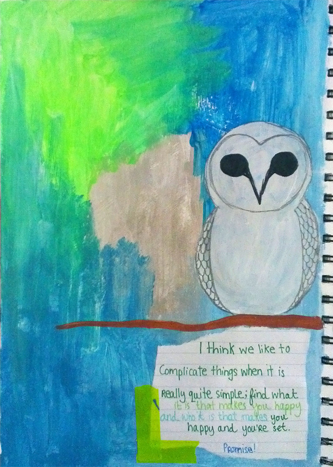Art Journaling #13