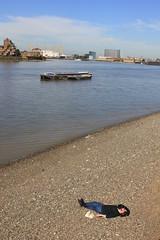 Sun-bathing, Greenwich-style