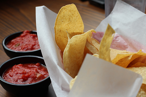 Housemade Tortilla Chips, Don Pablo's, Sarasota, FL, Restaurant Review