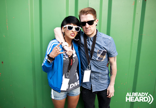 Laila K and Barney Boom of Sonic Boom Six