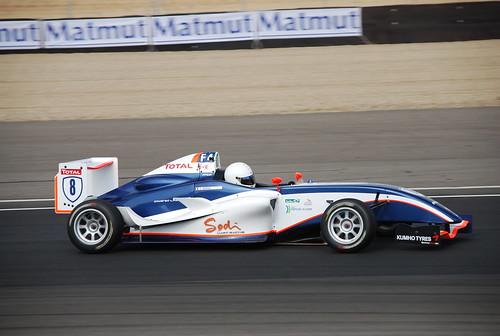 Baron Campeonato francés F4 Circuito de Navarra