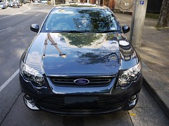 ford falcon (australian version)(0.0), automobile(1.0), automotive exterior(1.0), wheel(1.0), vehicle(1.0), ford fg falcon(1.0), ford motor company(1.0), compact car(1.0), bumper(1.0), ford(1.0), land vehicle(1.0), luxury vehicle(1.0),