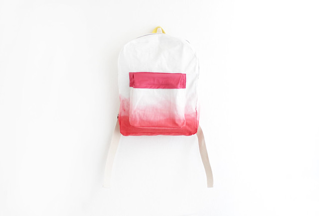 ziazia dyed backpack.