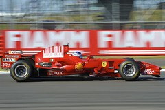 Ferrari Race Day Silverstone 2012