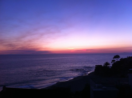 Laguna evening sky