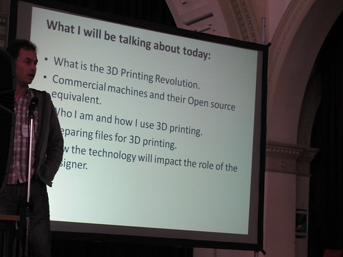 Mark Gilbert on The 3D Printed Revolution