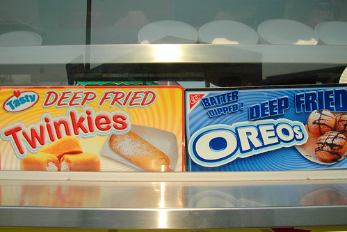 deep fried decisions. county fair food edition.