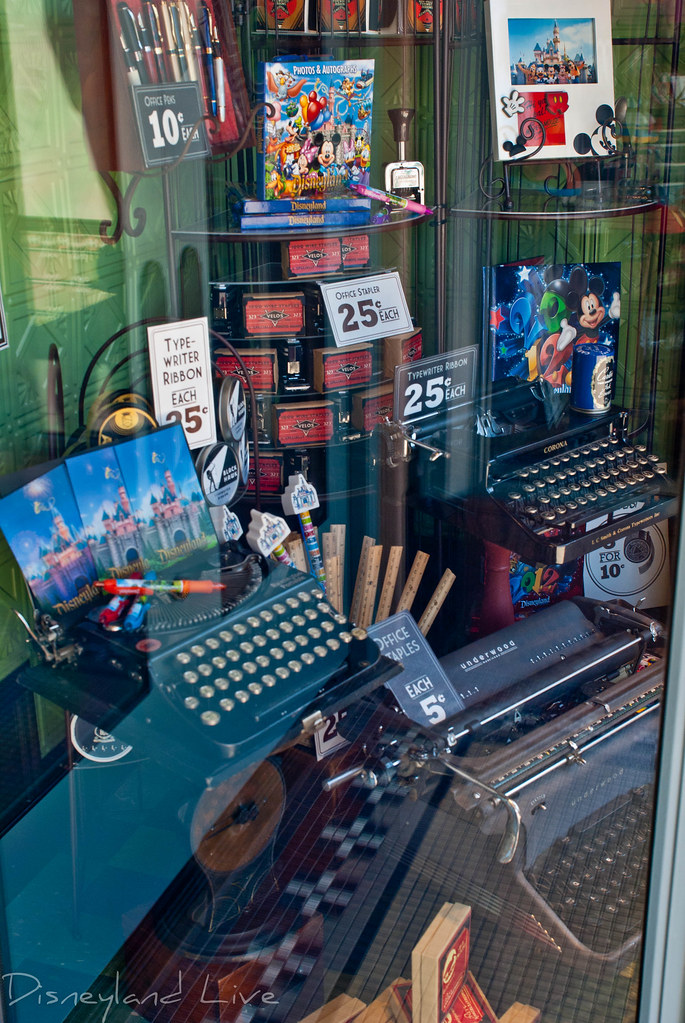 Buena Vista Street Window Changes - Disney California Adventure