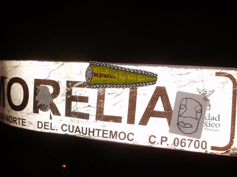 Mierda en Morelia